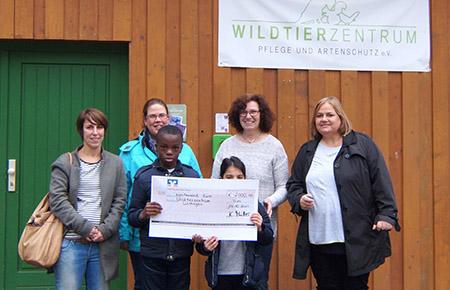 Spendenübergabe Matthias-Grundschule